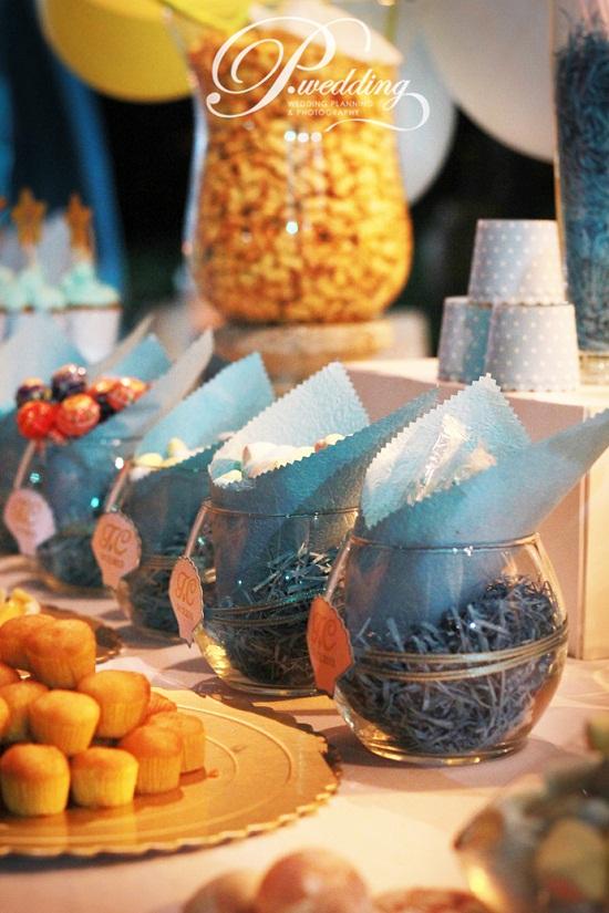 Trang trí tiệc cưới phong cách biển - vintage